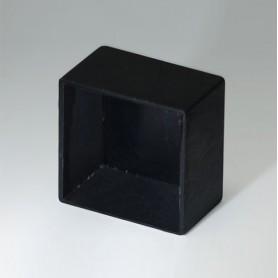 A8020128 / CAJA VACÍA, Vers. III - PA 66 (UL 94 V-2) - black RAL 9005 - 20,8x20,8x12,6mm