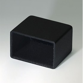 A8021178 / CAJA VACÍA, Vers. III - PA 66 (UL 94 V-2) - black RAL 9005 - 21,3x13,3x17,7mm