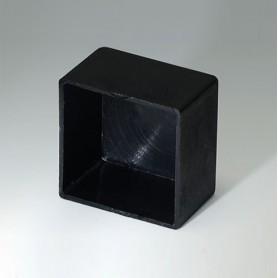 A8022148 / CAJA VACÍA, Vers. III - PA 66 (UL 94 V-2) - black RAL 9005 - 22,4x22,4x14mm