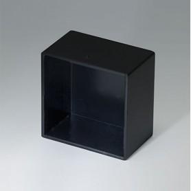 A8025159 / CAJA VACÍA, Vers. III - ABS (UL 94 HB) - black RAL 9005 - 25,3x25,3x15,2mm