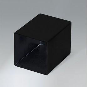 A8026358 / CAJA VACÍA, Vers. III - PA 66 (UL 94 HB) - black RAL 9005 - 26,4x26,4x35,2mm