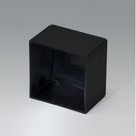 A8029198 / CAJA VACÍA, Vers. III - PA 66 (UL 94 V-2) - black RAL 9005 - 29x29x19,2mm