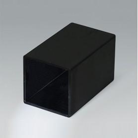 A8030508 / CAJA VACÍA, Vers. III - PA 66 (UL 94 V-2) - black RAL 9005 - 30,3x30,3x50,3mm