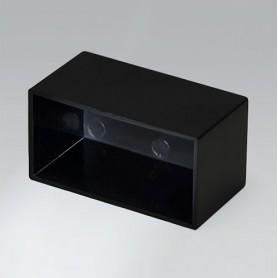 A8038209 / CAJA VACÍA, Vers. III - ABS (UL 94 HB) - black RAL 9005 - 38,3x20,4x20,2mm