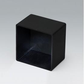 A8039268 / CAJA VACÍA, Vers. II - PA 66 (UL 94 V-2) - black RAL 9005 - 38,8x38,8x26,6mm