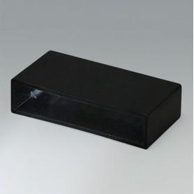 A8040208 / CAJA VACÍA, Vers. II - PA 66 (UL 94 V-2) - black RAL 9005 - 40x10x20,2mm