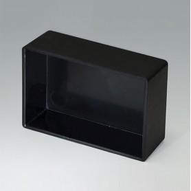 A8045169 / CAJA VACÍA, Vers. III - ABS (UL 94 HB) - black RAL 9005 - 45,5x30,5x15,7mm