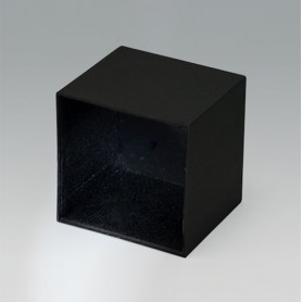 A8046408 / CAJA VACÍA, Vers. III - PA 66 (UL 94 HB) - black RAL 9005 - 46,2x46,2x40,8mm