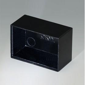 A8030150 / CAJA VACÍA, Vers. I - PF (UL 94 V-0) - black RAL 9005 - 30,2x20,15x15,1mm