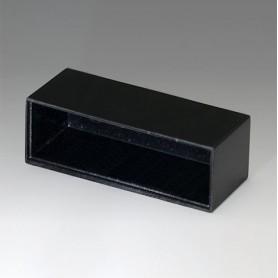 A8040160 / CAJA VACÍA, Vers. I - PF (UL 94 V-0) - black RAL 9005 - 40,5x13,8x16,1mm