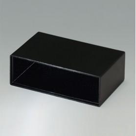 A8040250 / CAJA VACÍA, Vers. I - PF (UL 94 V-0) - black RAL 9005 - 40,2x13,55x25mm