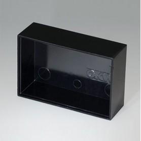 A8045150 / CAJA VACÍA, Vers. I - PF (UL 94 V-0) - black RAL 9005 - 45,1x30,1x15mm