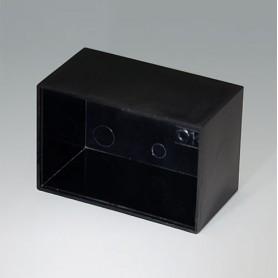 A8045250 / CAJA VACÍA, Vers. I - PF (UL 94 V-0) - black RAL 9005 - 45,1x30x24,9mm