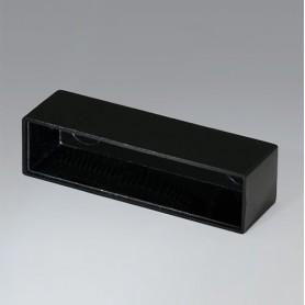 A8050150 / CAJA VACÍA, Vers. I - PF (UL 94 V-0) - black RAL 9005 - 49,9x13,1x15mm