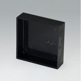 A8050160 / CAJA VACÍA, Vers. I - PF (UL 94 V-0) - black RAL 9005 - 50,15x50,15x15,1mm