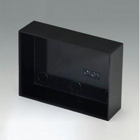 A8070200 / CAJA VACÍA, Vers. I - PF (UL 94 V-0) - black RAL 9005 - 70x50,4x20mm