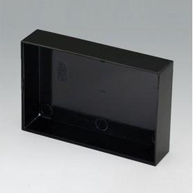 A8090200 / CAJA VACÍA, Vers. I - PF (UL 94 V-0) - black RAL 9005 - 90,3x60,3x20mm