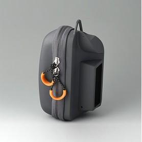 B4308610 / Maletín porta caja S, lado izquierdo - grey - 82x180x65mm