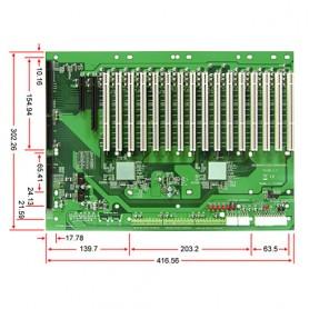 PBPE-19AG64 / Backplanes PICMG1.3 Server grade
