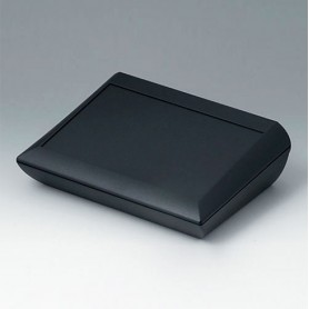 A0620109 / COMTEC 200 H, Vers. I - ABS (UL 94 HB) - black RAL 9005 - 200x150x62,8mm - IP 40