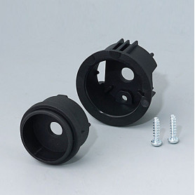 B8741219 / STAR-KNOBS Versión de Superficie sin Iluminación LED - Kit de montaje en Superficie 41 - PA 6  - nero