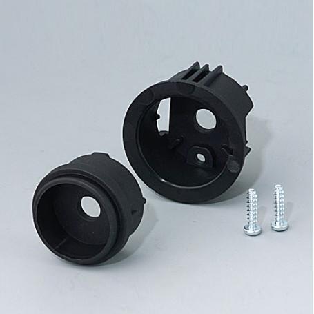 B8741219 / STAR-KNOBS Versión de Superficie sin Iluminación LED - Kit de montaje en Superficie 41 - PA 6  - nero