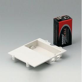 A9177310 / Compartimento de batería, 1 x 9 V - ABS (UL 94 HB)