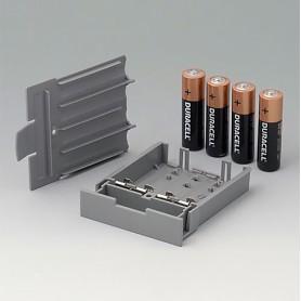 A9178128 / Compartimento de batería, M/L, 4 x AA - PC - volcano