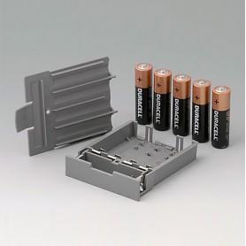 A9178158 / Compartimento de batería, M/L, 5 x AA - PC - volcano