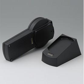 A9077159 / SET: DATEC-CONTROL S, Vers. I, estación base - ABS (UL 94 HB) - black RAL 9005 - 228x117mm - IP 65 opt.