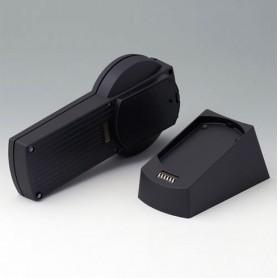 A9077259 / SET: DATEC-CONTROL S, Vers. II, estación base - ABS (UL 94 HB) - black RAL 9005 - 228x117mm - IP 65 opt.