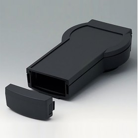 A9078109 / DATEC-CONTROL M, Vers. I - ABS (UL 94 HB) - black RAL 9005 - 243x130x60mm - IP 54 opt.