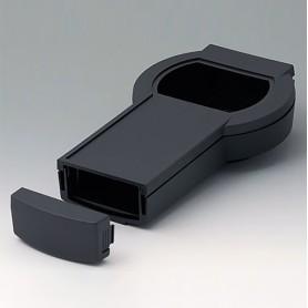 A9079209 / DATEC-CONTROL L, Vers. II - ABS (UL 94 HB) - black RAL 9005 - 266x144x60mm - IP 54 opt.