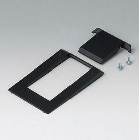 A9250909 / Barra de pie inclinable - ABS (UL 94 HB) - black RAL 9005