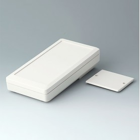 A9074107 / DATEC-MOBIL-BOX M, Vers. I - ABS (UL 94 HB) - off-white RAL 9002 - 195x101x44mm - IP 65 opt.