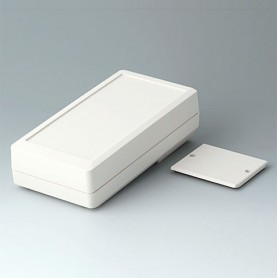 A9074127 / DATEC-MOBIL-BOX M, Vers. I, high - ABS (UL 94 HB) - off-white RAL 9002 - 195x101x59mm - IP 65 opt.