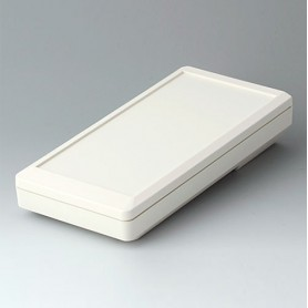 A9075117 / DATEC-MOBIL-BOX L, Vers. I - ABS (UL 94 HB) - off-white RAL 9002 - 252x121x50mm - IP 65 opt.