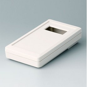 A9073217 / DATEC-MOBIL-BOX S, Vers. II - ABS (UL 94 HB) - off-white RAL 9002 - 152x83x33,5mm - IP 65 opt.