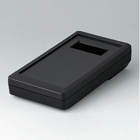 A9073219 / DATEC-MOBIL-BOX S, Vers. II - ABS (UL 94 HB) - black RAL 9005 - 152x83x33,5mm - IP 65 opt.