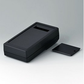 A9074229 / DATEC-MOBIL-BOX M, Vers. II, high - ABS (UL 94 HB) - black RAL 9005 - 195x101x59mm - IP 65 opt.