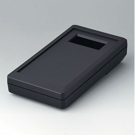 A9073409 / DATEC-MOBIL-BOX S, Vers. IV - ABS (UL 94 HB) - black RAL 9005 - 152x83x33,5mm - IP 65 opt.