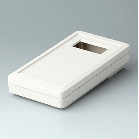 A9073417 / DATEC-MOBIL-BOX S, Vers. IV - ABS (UL 94 HB) - off-white RAL 9002 - 152x83x33,5mm - IP 65 opt.