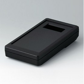 A9073419 / DATEC-MOBIL-BOX S, Vers. IV - ABS (UL 94 HB) - black RAL 9005 - 152x83x33,5mm - IP 65 opt.