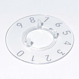 A4423039 / Dial 23 - PC (UL 94 HB) - transparente