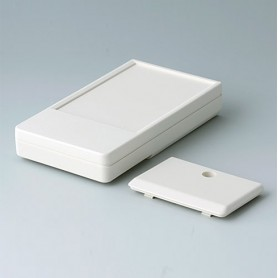 A9071107 / DATEC-POCKET-BOX M - ABS (UL 94 HB) - off-white RAL 9002 - 105x58x18,5mm - IP 41