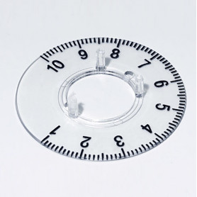 A4423060 / Dial 23 - PC (UL 94 HB) - transparente