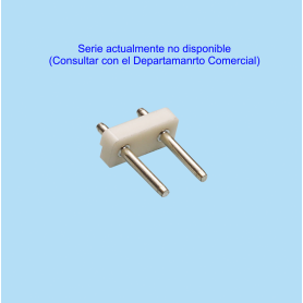 7556 / Regleta recta PIN redondo - Paso 7.50–5.00 mm