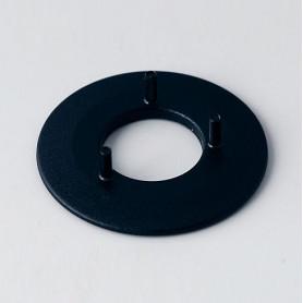 A7316000 / Disco 16, sin línea - ABS (UL 94 HB) - black RAL 9005