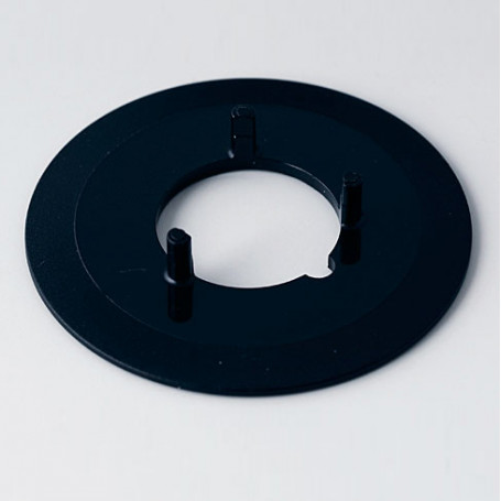 A7331000 / Disco 31, sin línea - ABS (UL 94 HB) - black RAL 9005