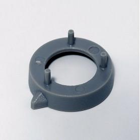 A7616008 / Cubierta de tuerca 16, sin línea - ABS (UL 94 HB) - dusty grey RAL 7037